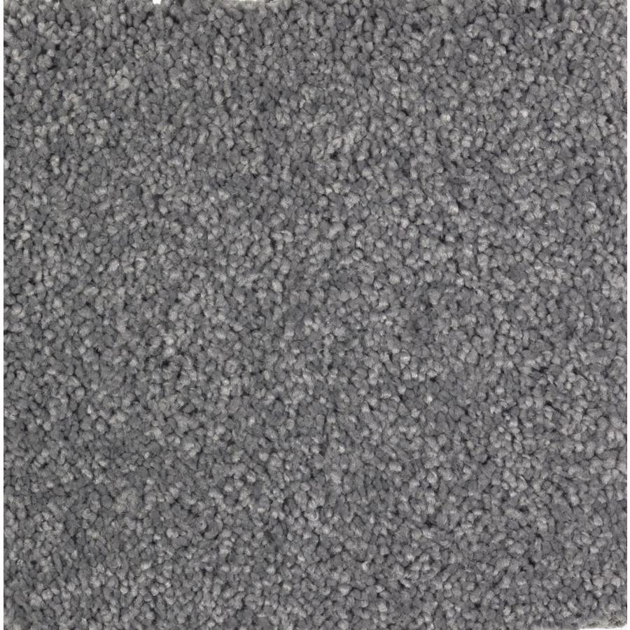STAINMASTER Essentials Decor Fashion Indigo Plush Carpet Sample