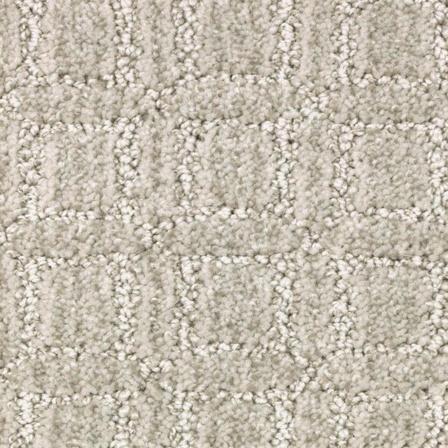 STAINMASTER Fashion Walk Essentials Stellar Cut and Loop Carpet Sample