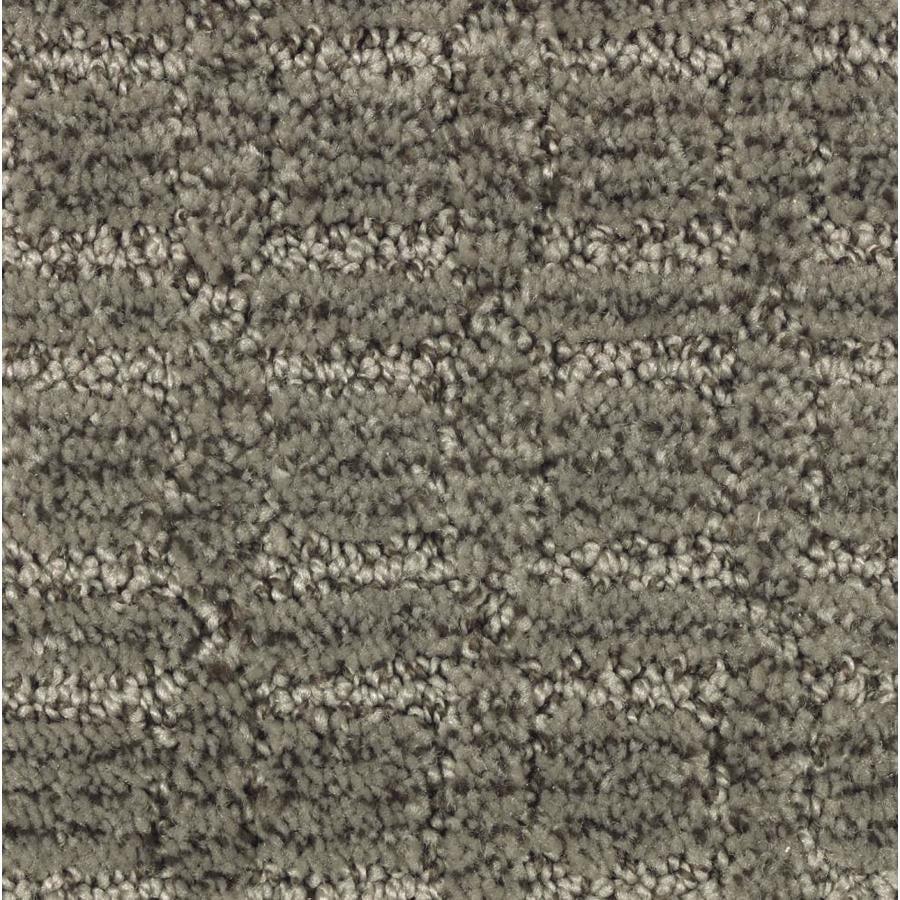 STAINMASTER Essentials Fashion Walk Walnut Shell Carpet Sample