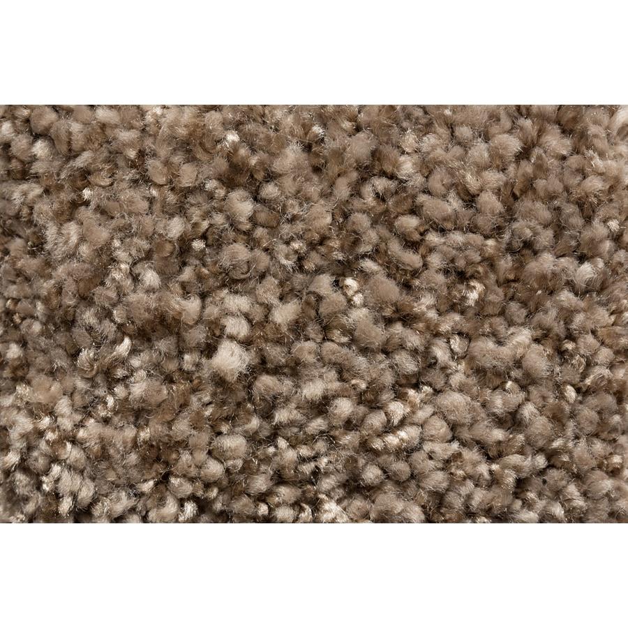 STAINMASTER TruSoft Footloose Style Cue Plush Carpet Sample