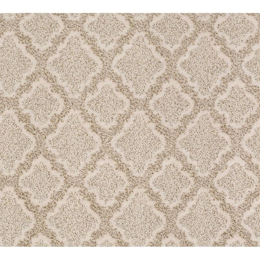 STAINMASTER Active Family Lavishness Ivory Lace Carpet Sample