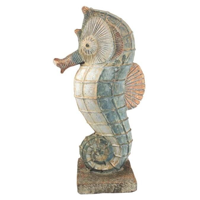 13 5 In W Animal Garden Statue, Seahorse Garden Statue