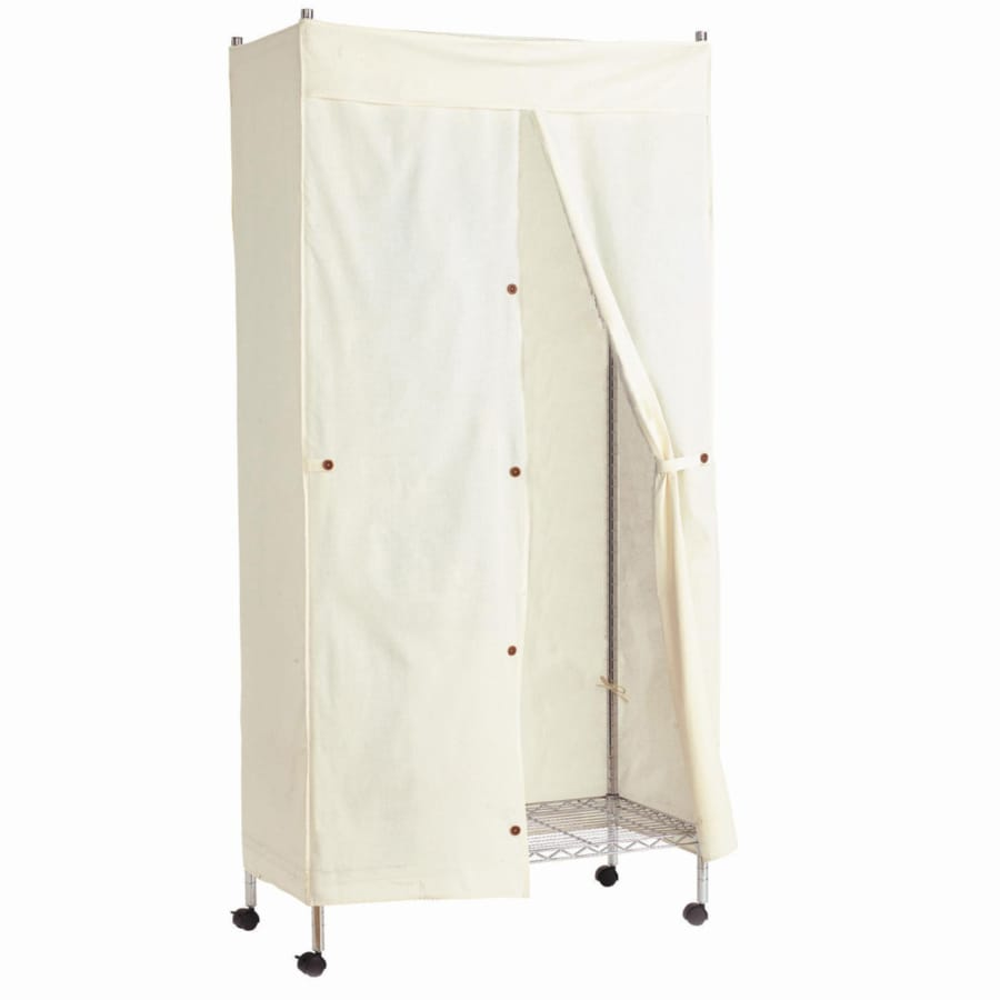 Style Selections Nature Canvas Garment Rack Cover
