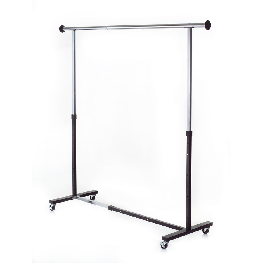 Shop Style Selections Chrome Steel Clothing Rack at Lowes.com