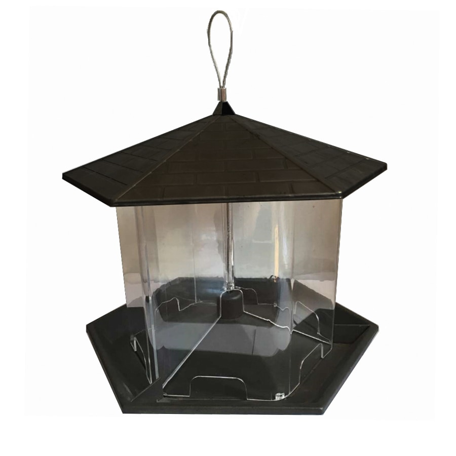 hanging bird adjustable feeder gazebo with graybunny rope