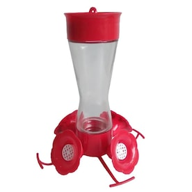 Garden Treasures Red Hummingbird Feeder