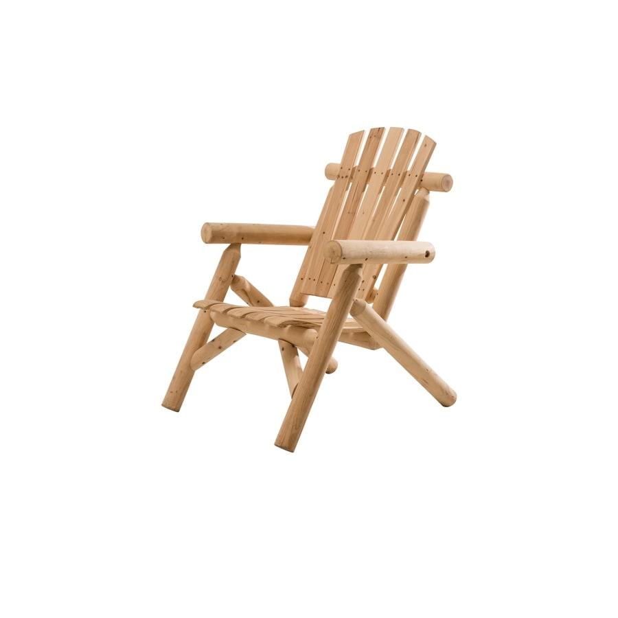 Sunjoy Brown Douglas Fir Patio Adirondack Chair