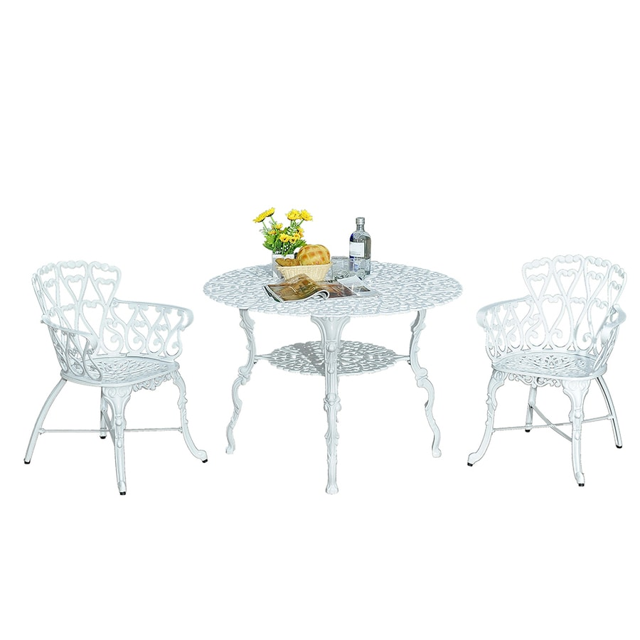 Sunjoy 3-Piece Aluminum Patio Dining Set