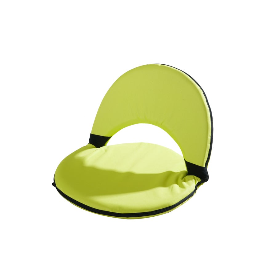 Sunjoy Green Plastic Patio Chaise Lounge Chair