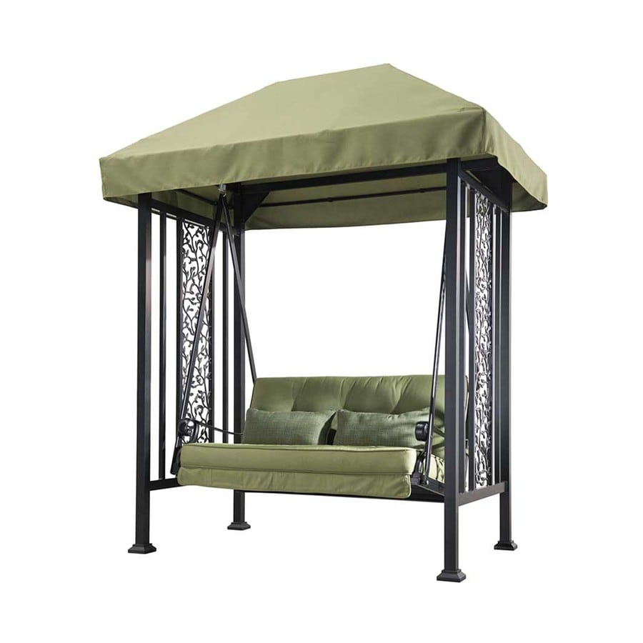 Sunjoy Vineyard Green Porch Swing