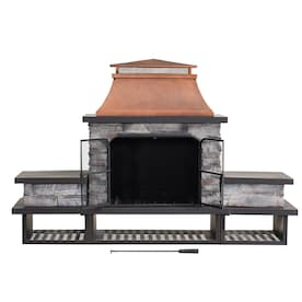 Outdoor Wood Burning Fireplaces At