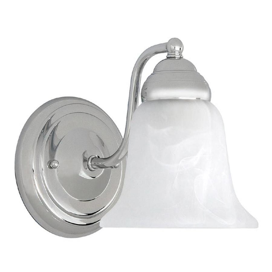 Century 6-in W 1-Light Chrome Arm Hardwired Wall Sconce