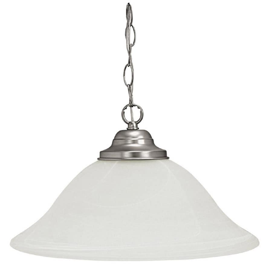 Century 15-in Matte Nickel Mini Pendant