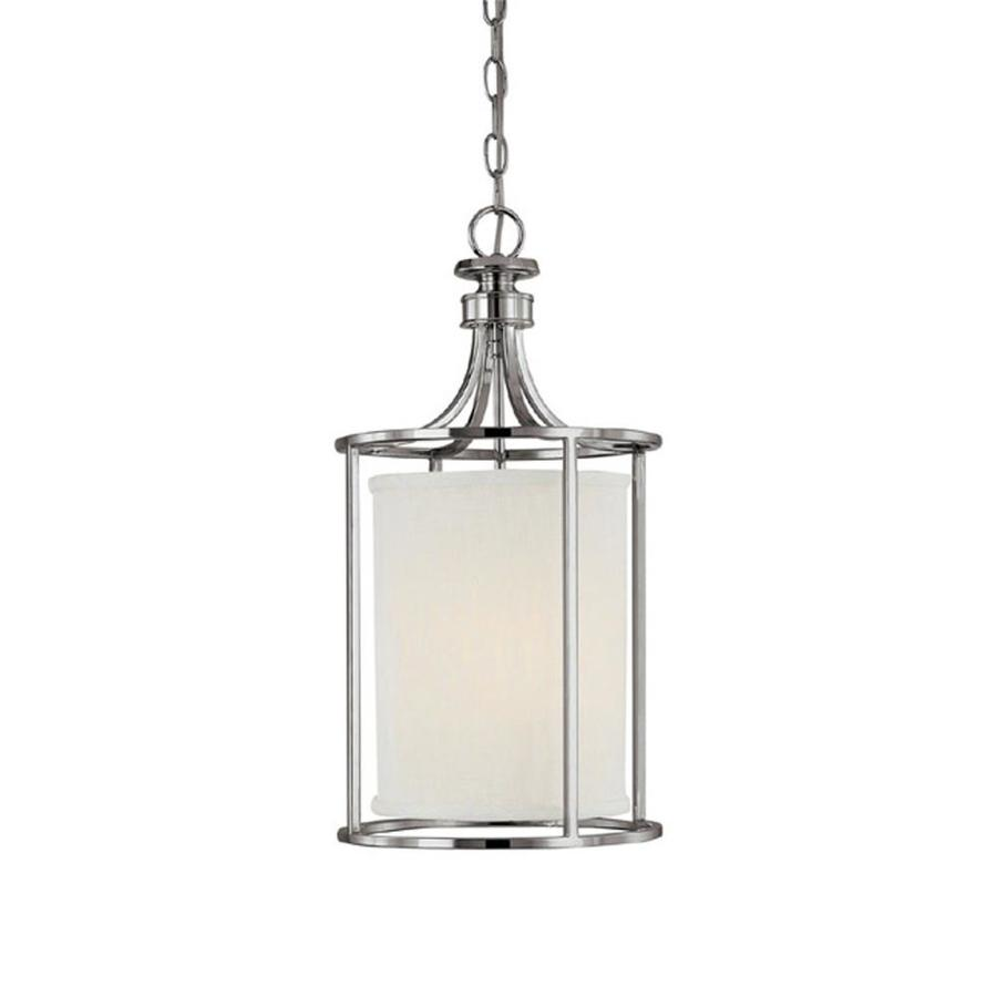 Century 11-in Polished Nickel Single Pendant