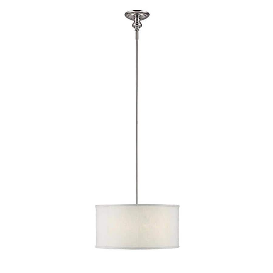 Century 18-in Polished Nickel Single Pendant