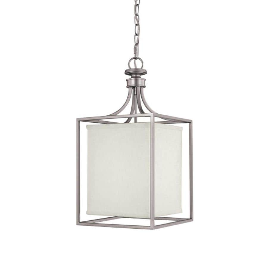 Century 11-in Matte Nickel Single Pendant