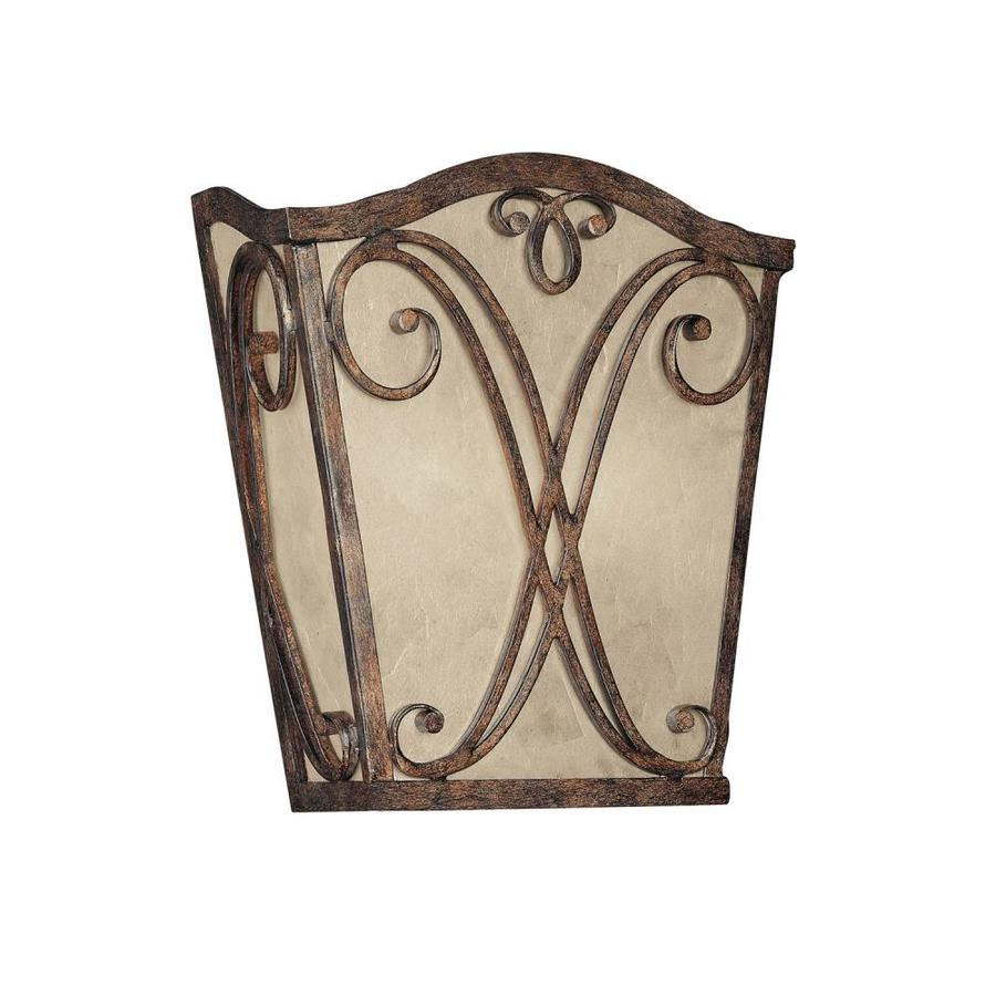Rustic Wall Sconces Lowes : Shop Century 10.75-in W 1-Light Rustic Pocket Wall Sconce at Lowes.com
