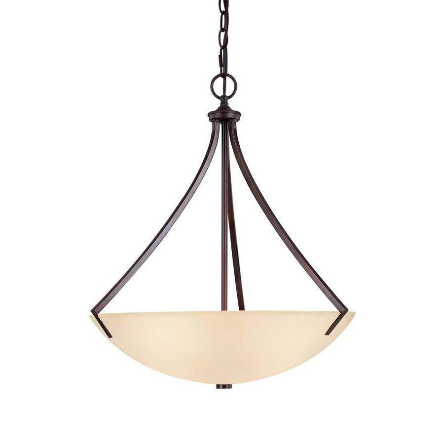 Century 20.5-in Burnished Bronze Single Pendant