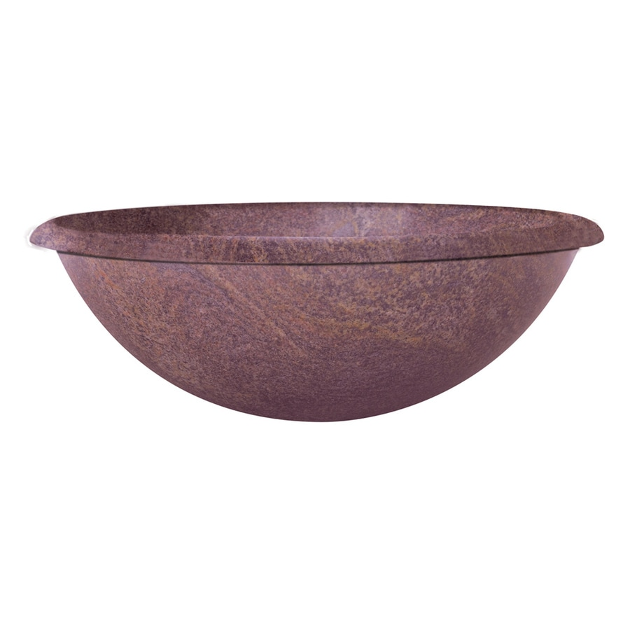 Round Granite Sink : DECOLAV A Perfect Chisel Paradiso Granite Vessel Round Bathroom Sink