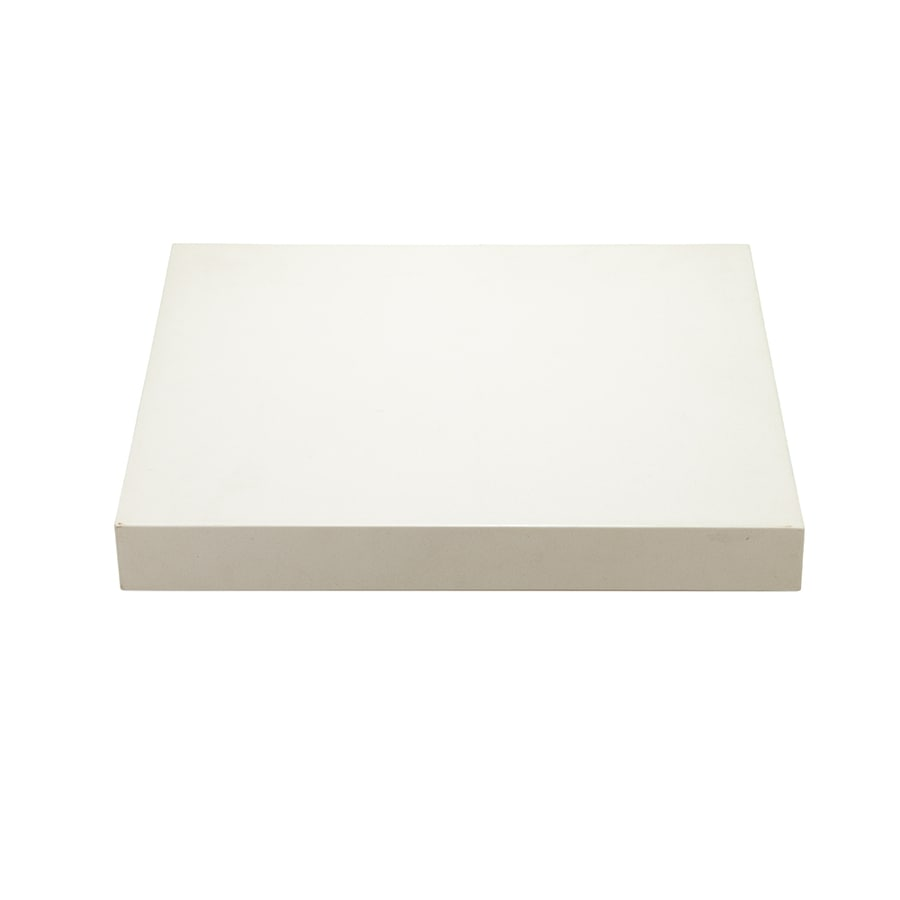 DECOLAV Cameron Modular White Quartz Bathroom Vanity Top (Common: 25-in x 22-in; Actual: 26-in x 22-in)