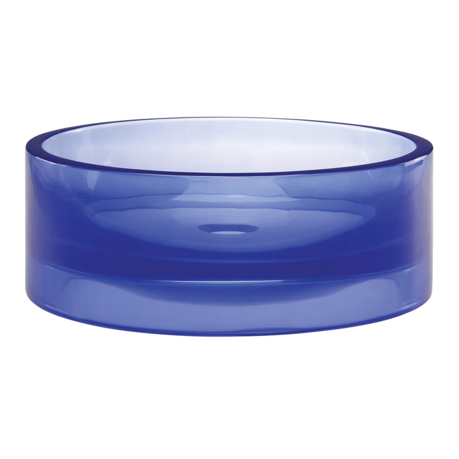 DECOLAV Incandescence Atmosphere Resin Vessel Round Bathroom Sink