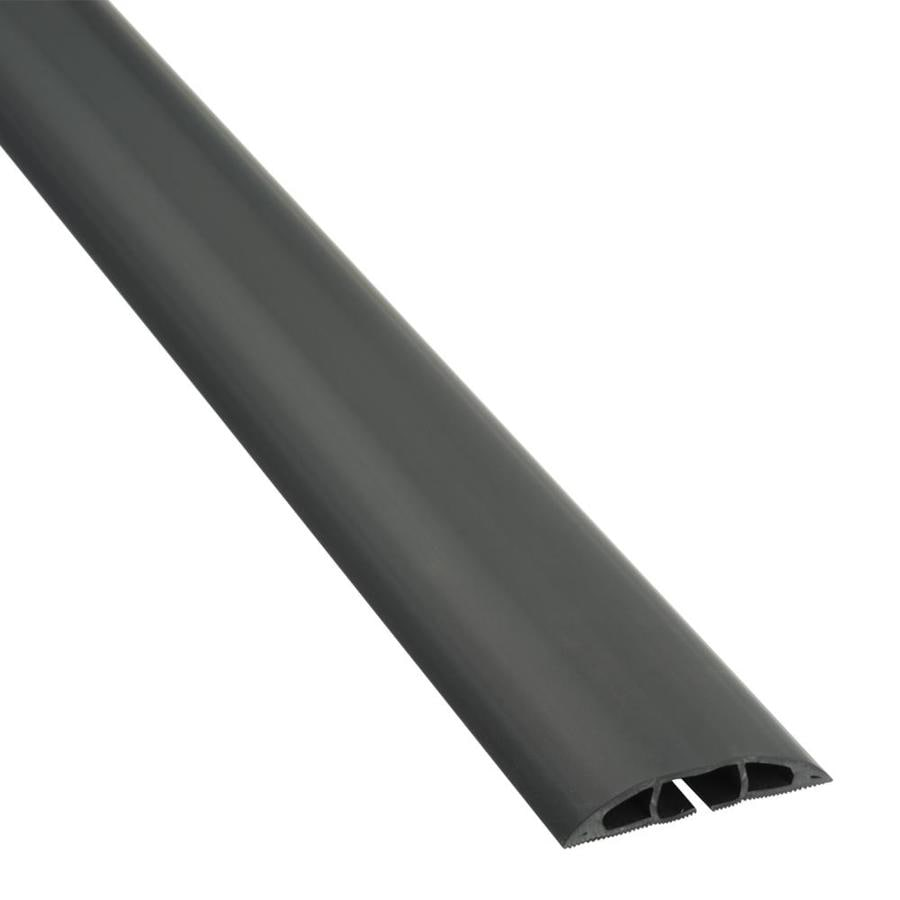 D Line 2 5 In Black Overfloor Cord Protector In The Cord Covers
