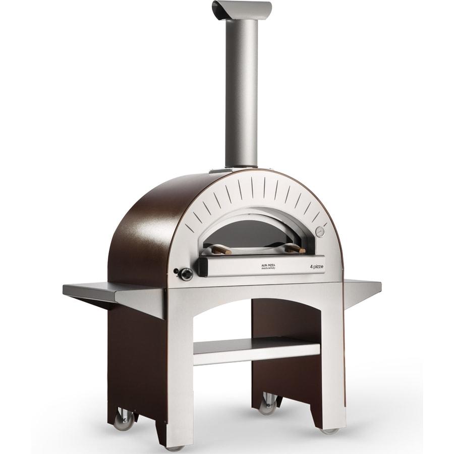 Alfa Pizza Forninox Brick Hearth Natural Gas Outdoor Pizza Oven