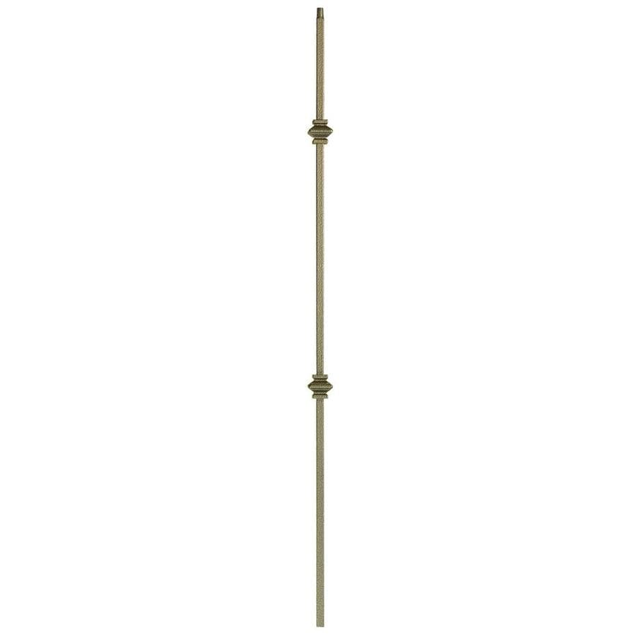 WM Coffman Knuckle Series 44-in Antique Bronze Wrought Iron Versatile Stair Baluster