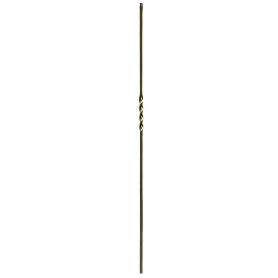 WM Coffman 44-in Oil Rubbed Copper Wrought Iron Twist Stair Baluster