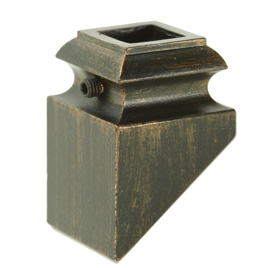 WM Coffman Oil Rubbed Copper Aluminum Baluster Shoe