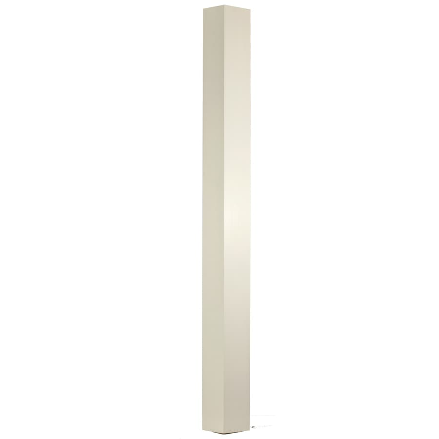 WM Coffman Ibn 4.5-in x 62-in Primed White Primed Poplar Wood Stair Newel Post