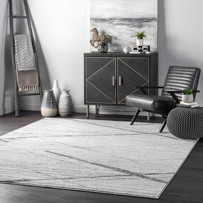 Nuloom Thigpen Gray Indoor Area Rug Common 8 X 10 Actual 7 5
