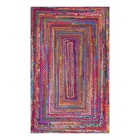 Solid Braided Area Rug 5X8 - nuLOOM