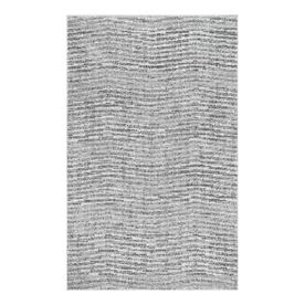 Sterling Gray Solid Loomed Area Rug - (2x3) - nuLOOM