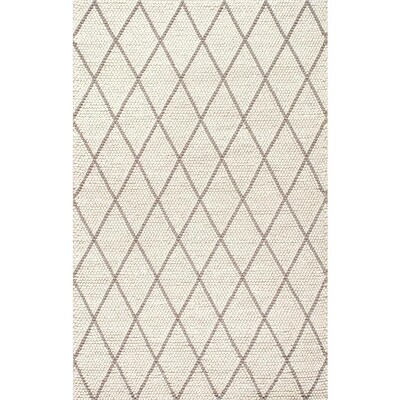 Ivory Indoor Handcrafted Area Rug Common 7 X 9 Actual 5 Ft W L