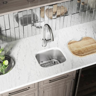 Mr Direct 15 In X 12 75 Stainless Steel Single Basin