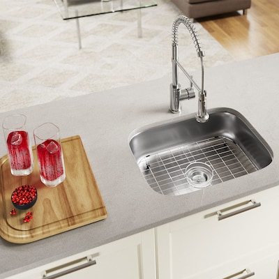 Mr Direct 23 In X 17 75 Stainless Steel Single Basin