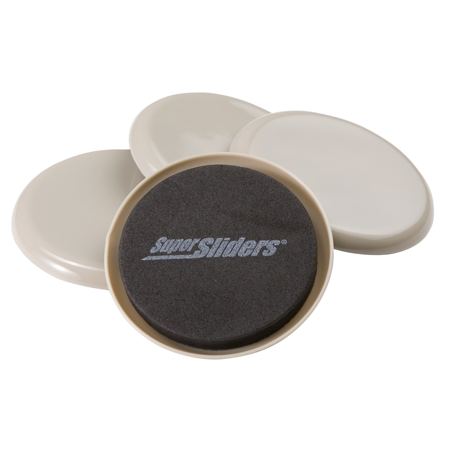 Captivating Super Sliders 3 1/2 In Round Reusable Carpet Slider