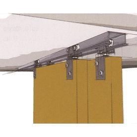 Hettich 60 In Bi P Door Sliding Closet Track Kit