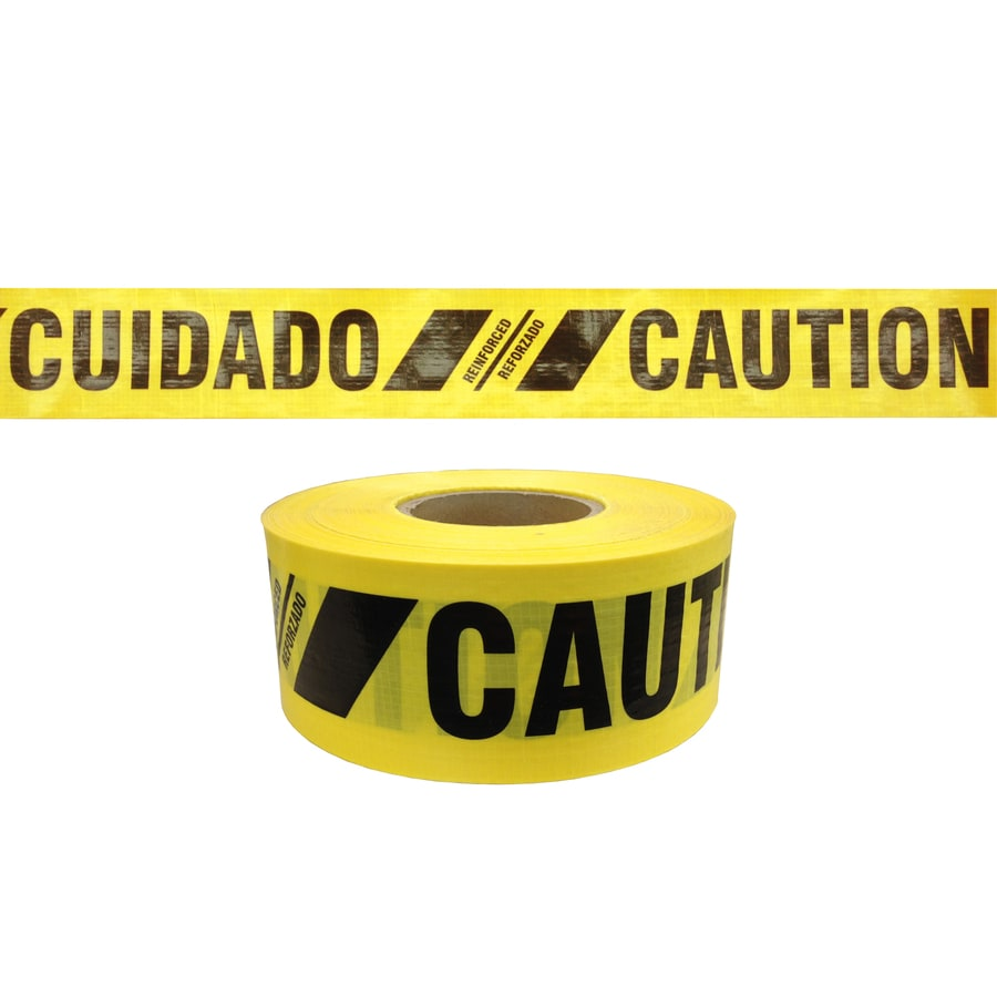 Presco 3-in x 500-ft Yellow Flagging Tape