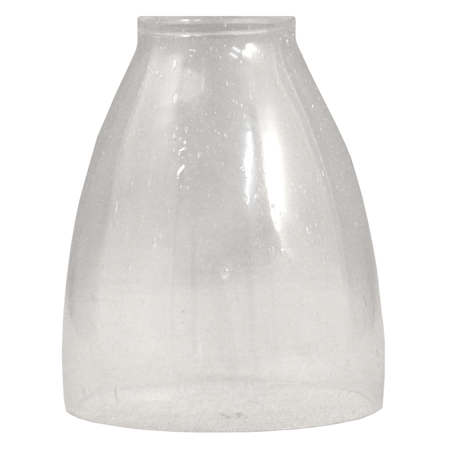 Shop Clear Seeded Lamp at Lowes.com