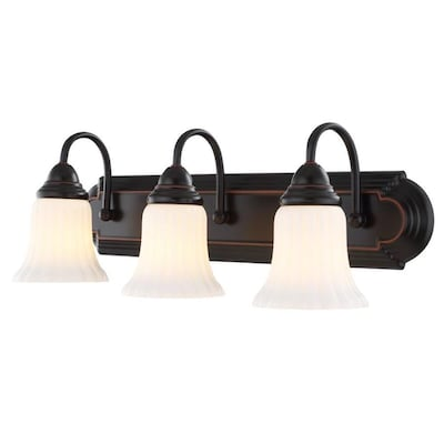 3 Light 24 09 In Oil Rubbed Bronze Vanity