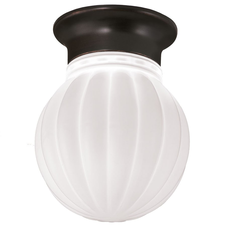 Shop Project Source 13 In W Bronze Integrated Led Ceiling: Shop Project Source 5.91-in W Dark Oil-Rubbed Bronze Flush