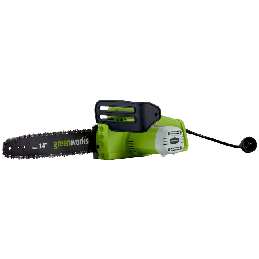 Greenworks 9-Amp 14-in Corded Electric Chainsaw