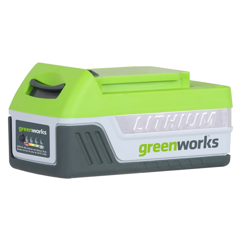 Greenworks 20-Volt Max 2-Amp Hours Power Tool Battery