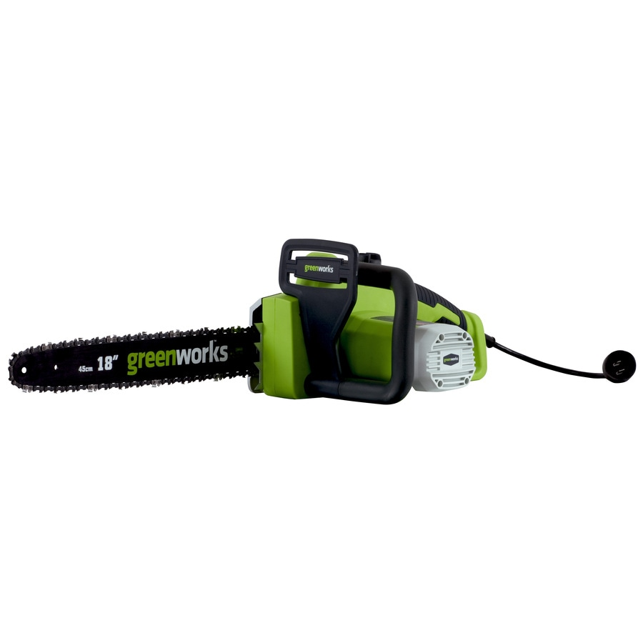 Greenworks 13-Amp 18-in Corded Electric Chainsaw