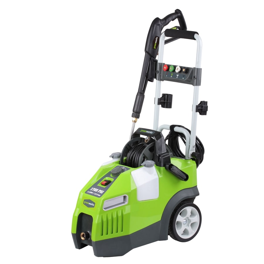 Greenworks 1700 Psi 1 4 Gpm Cold Water Electric Pressure