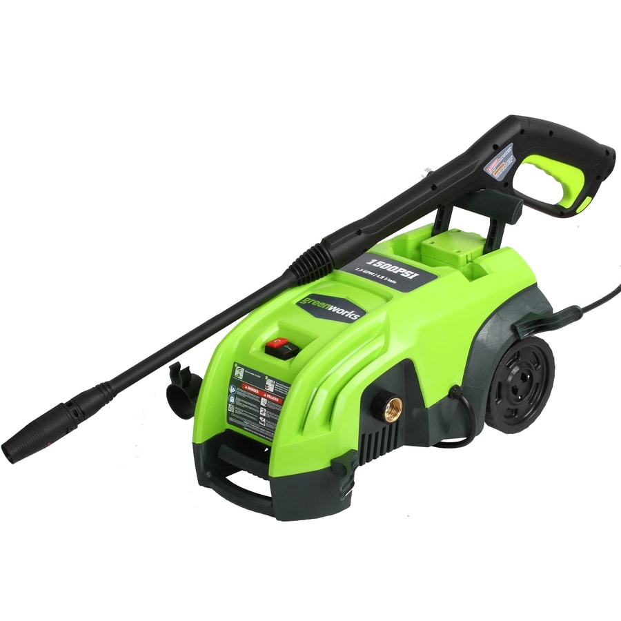 Greenworks 1,500-PSI 1.3-GPM Electric Pressure Washer