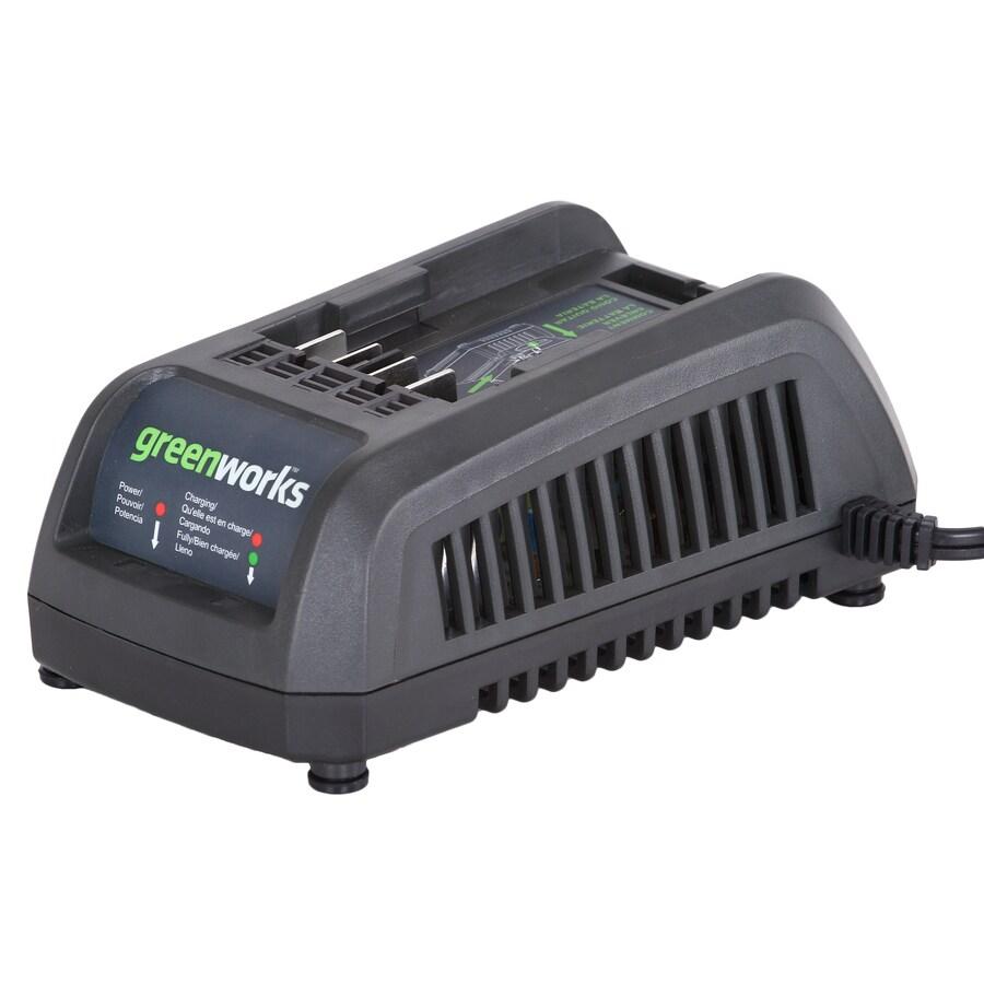Greenworks 40-Volt Charger for All 40-Volt Greenworks Batteries