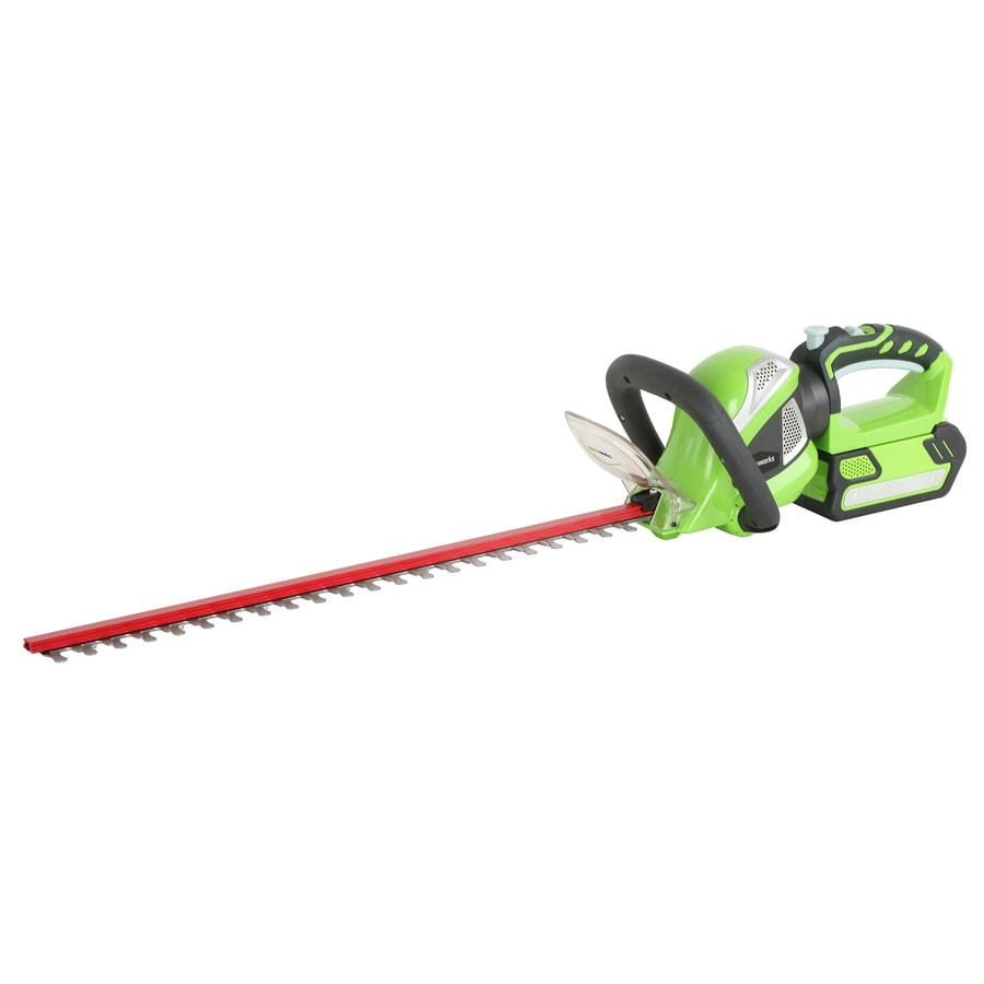 Greenworks 40-Volt 24-in Dual Cordless Hedge Trimmer